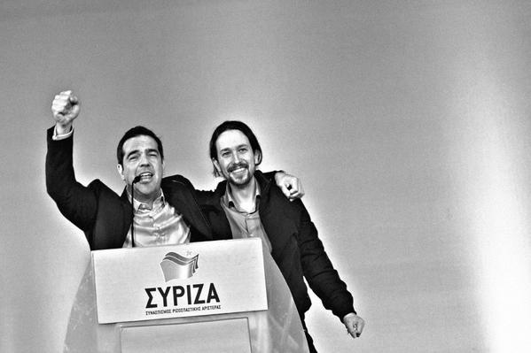 podemos syriza