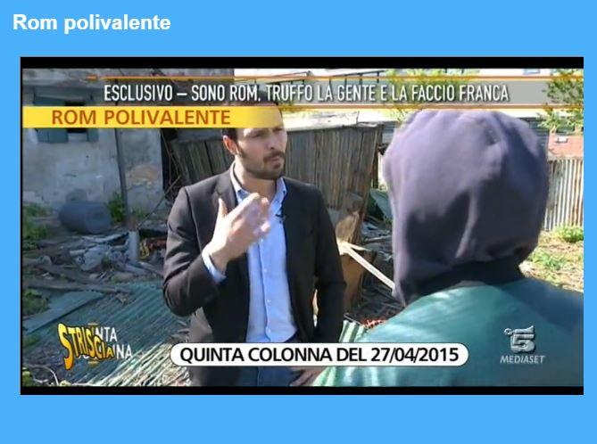 Il servizio andato in onda a Quinta Colonna (fonte: http://www.striscialanotizia.mediaset.it/)