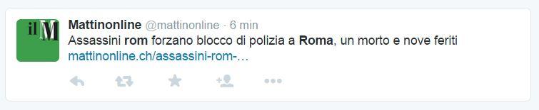 rom roma mattia battistini