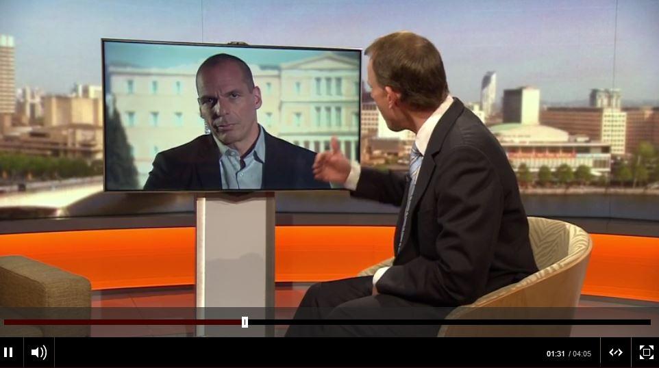 varoufakis grexit euro
