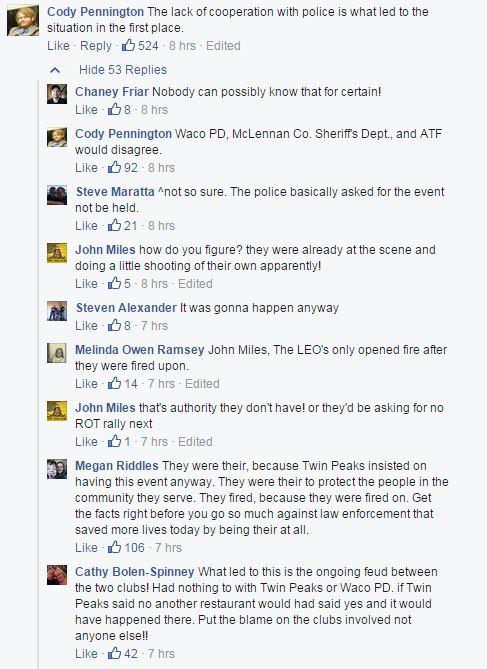 waco twin peaks bikers commenti