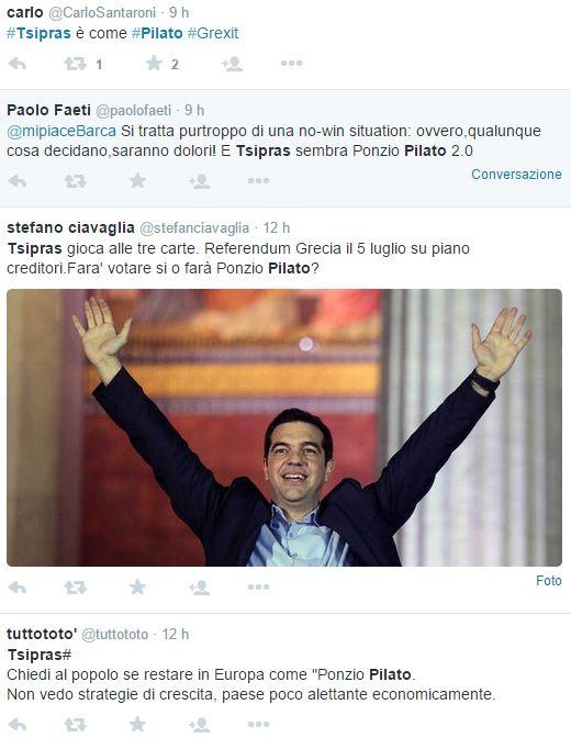 alexis tsipras ponzio pilato