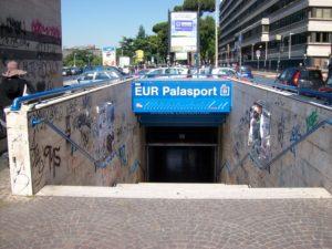 eur palasport metro
