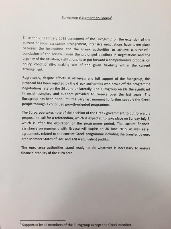 eurogruppo grecia