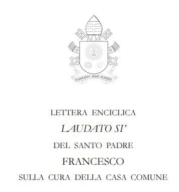 laudato si vaticano