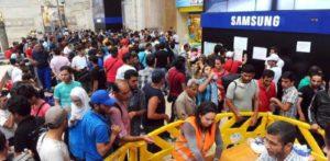 profughi stazione centrale milano