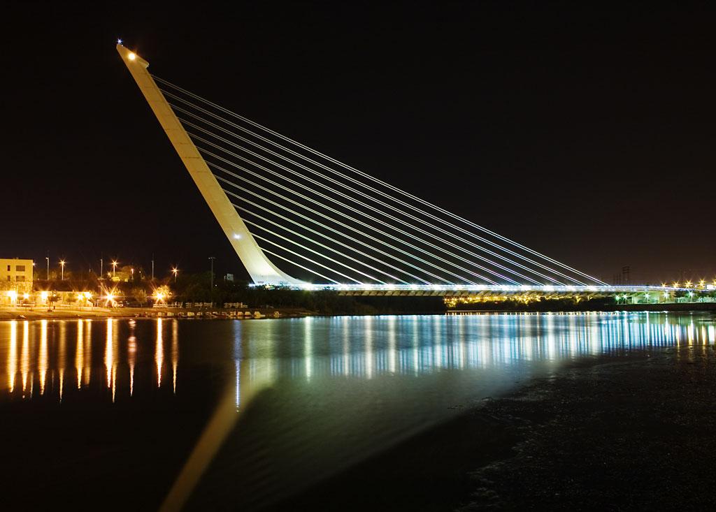 selfie ponte calatrava