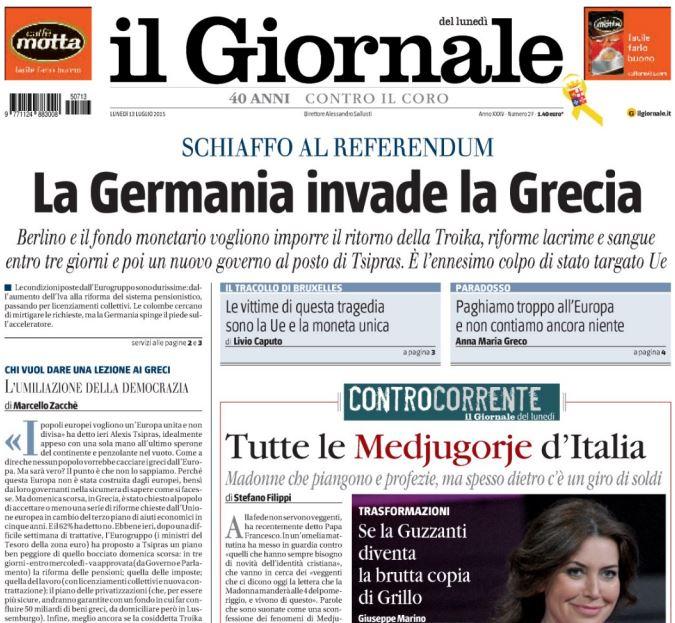 germania invade grecia