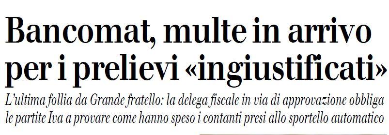 Fonte: Il Giornale