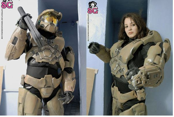 On Halo 3 no one knows you're a suicide girl