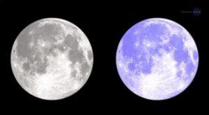 luna blu nasa