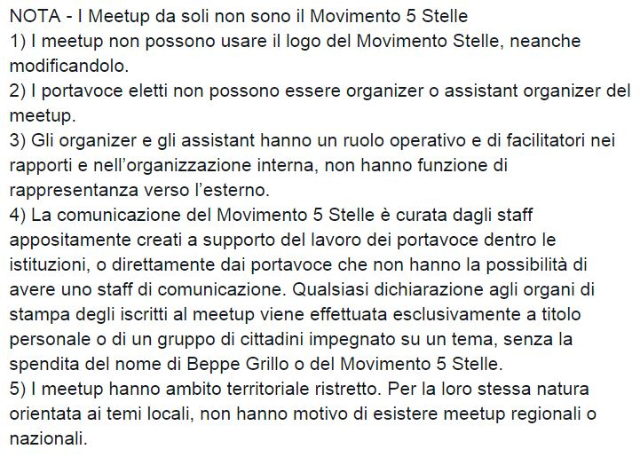 meet up movimento 5 stelle 1
