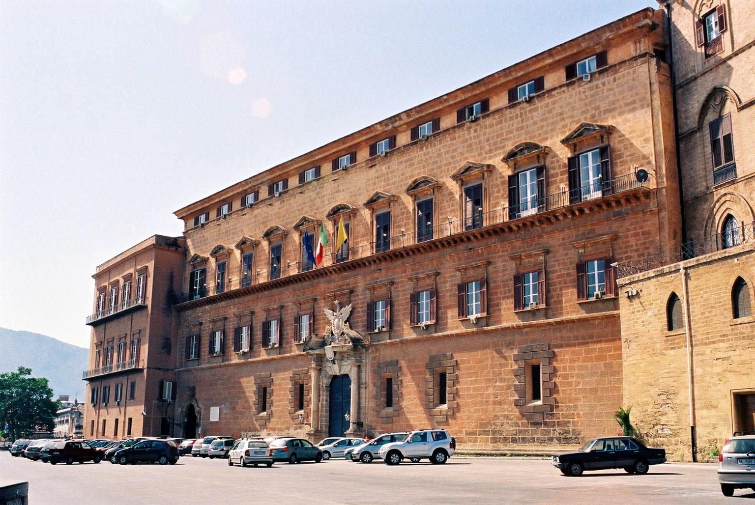 palazzo dei normanni regione sicilia