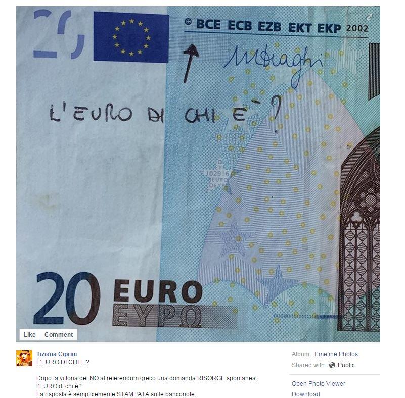 tiziana ciprini euro signoraggio