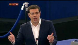 tsipras discorso europarlamento copertina
