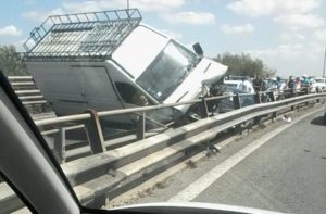 viadotto magliana incidente 1