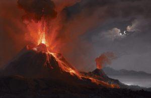 Camillo_de_Vito_(attr)_Vesuvio_1820-02-21