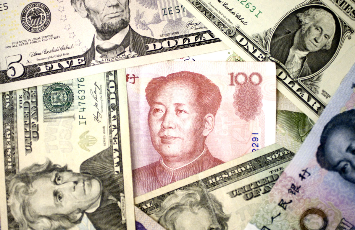 Dollar Rises Most Since August As China Rate Increase Saps Risk