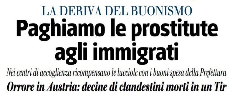 prostitute immigrati