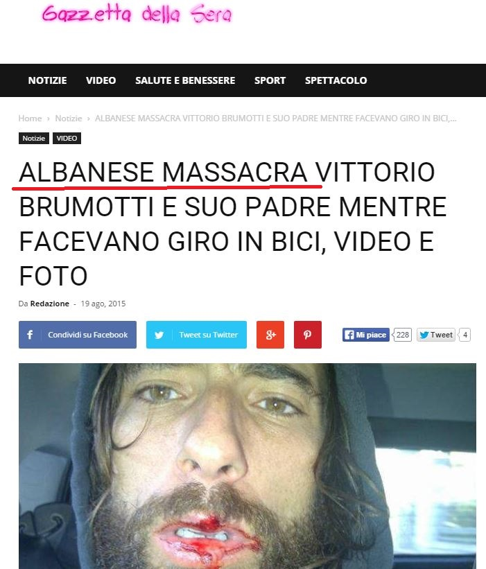 vittorio brumotti striscia la notizia 2