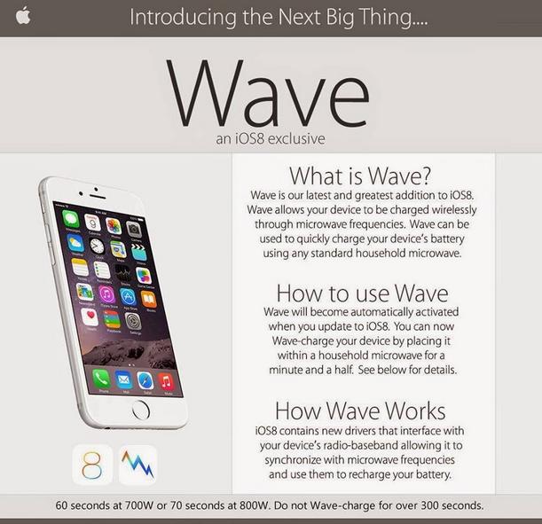 Il famoso scherzo con la nuova funzionalità per caricare l'iPhone nel microonde