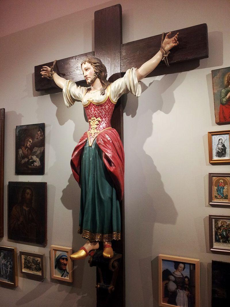 Santa Wilgefortis (fonte: Wikipedia.org)