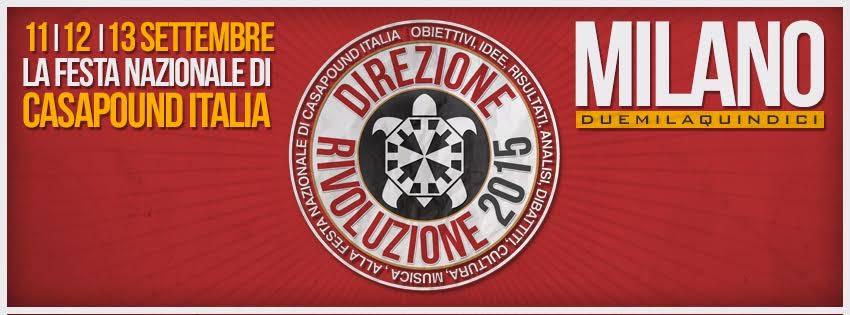 Il grande raduno nazionale non si farà a Milano ma quelli di Casa Pound non se ne sono accorti