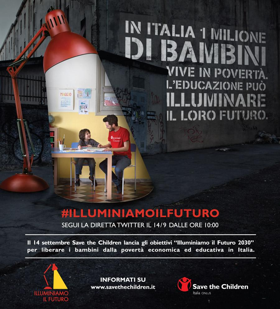 ILLUMINIAMO IL FUTURO SAVE THE CHILDREN