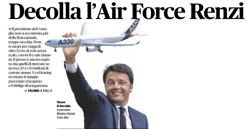 Air Force Renzi