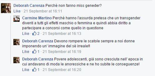 coscienza sveglia miss italia transgender
