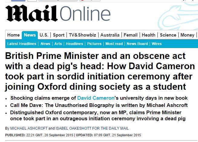 david cameron testa maiale piggate