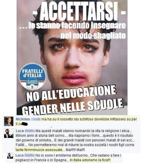 gender italia fica