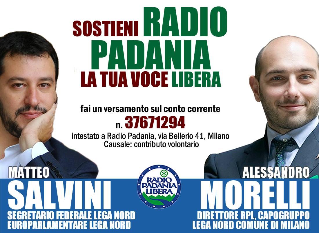 Aiuta anche tu Radio Padania!1