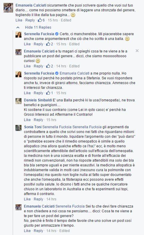 serenella fucksia omeopatia big pharma