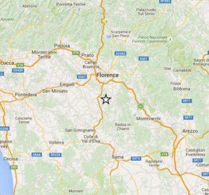 terremoto firenze toscana