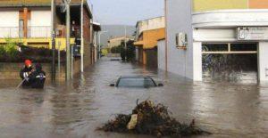 alluvione olbia sott'acqua 1