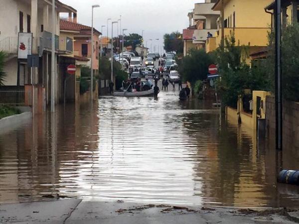 alluvione olbia sott'acqua 2
