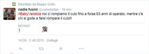 beppe grillo retweet vendola omofobia 1