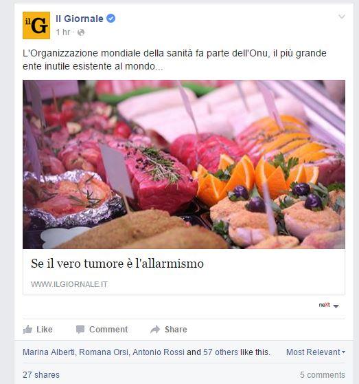 carne rossa cancerogena complotti - 4