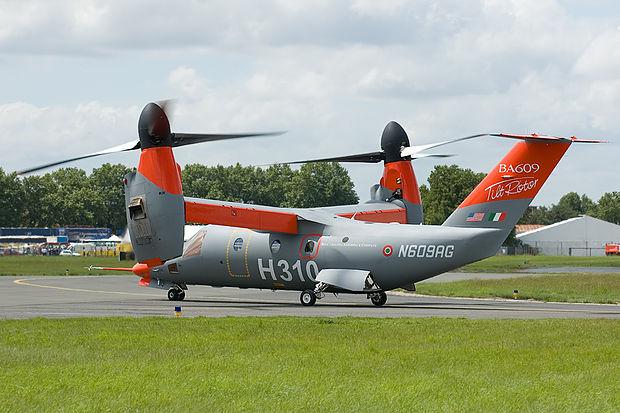 convertiplano' medio-leggero AW 609 della Agusta
