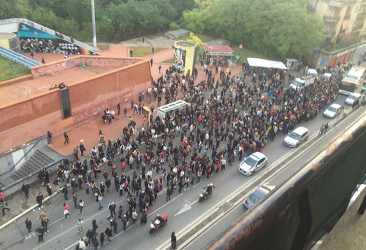metro b roma rotta 22 ottobre 1