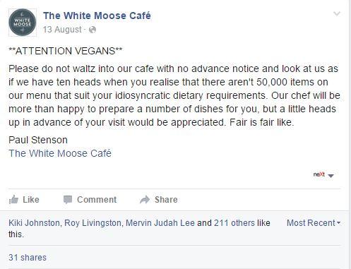ristorante vegani dublino - 1
