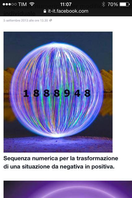 sequenza numerica di guarigione