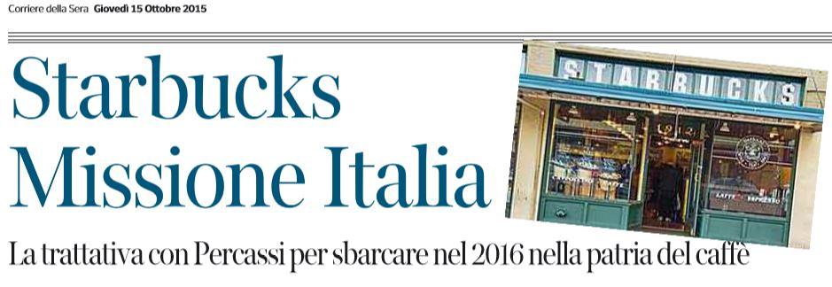 starbucks italia corriere percassi 1