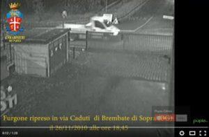 bossetti video furgone falso
