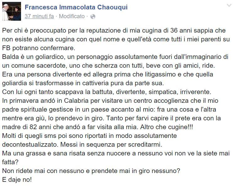 francesca chaouqui sms hot monsignor balda