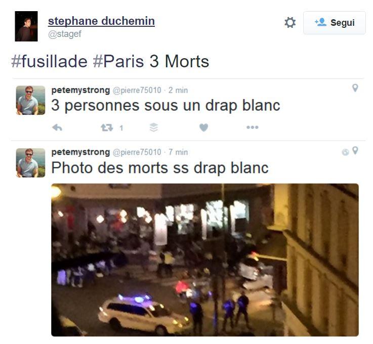 fusillade sparatorie parigi