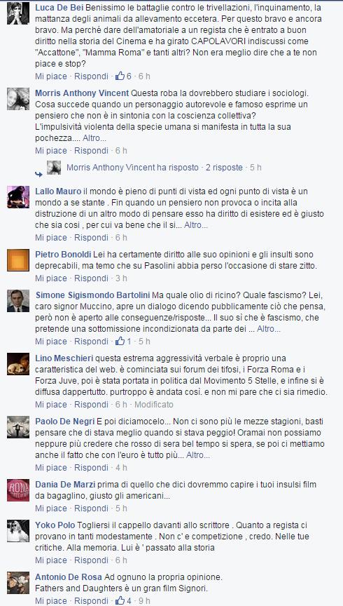 gabriele muccino pasolini commenti - 1