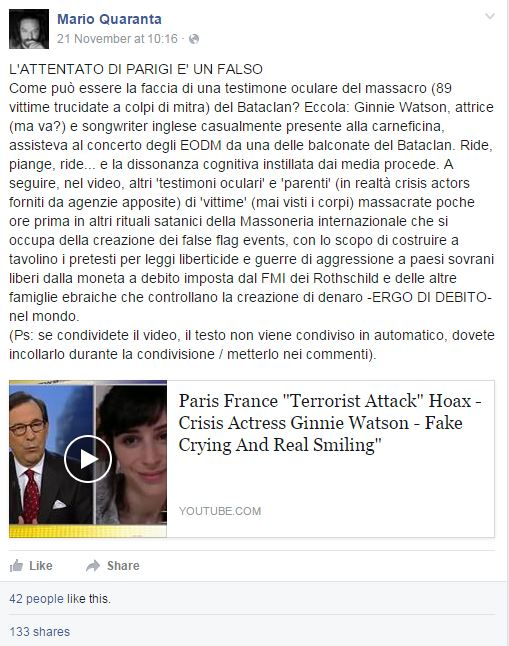 ginnie watson false flag bataclan - 1