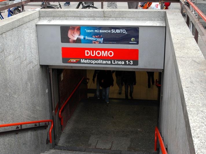 metro duomo milano